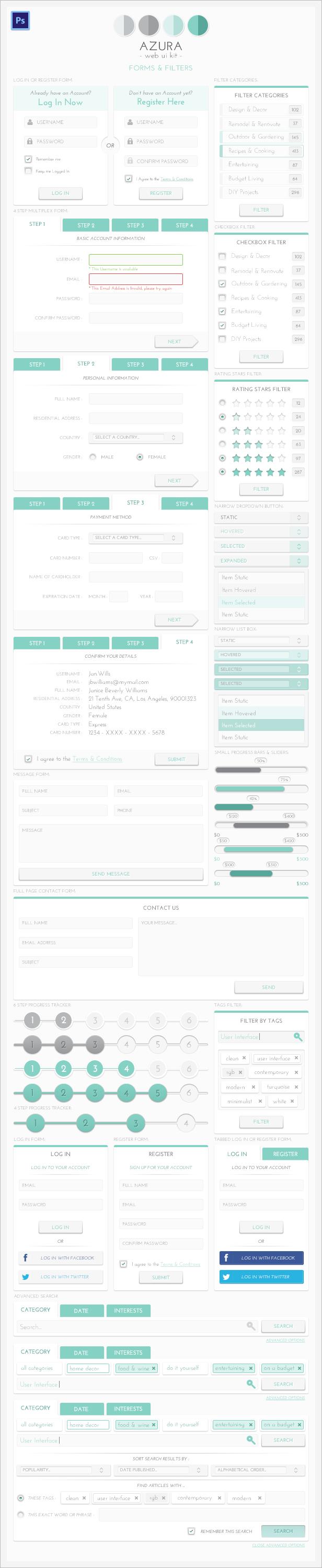 Azura Web UI Kit